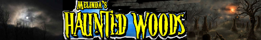 Melinda's Haunted Woods logo